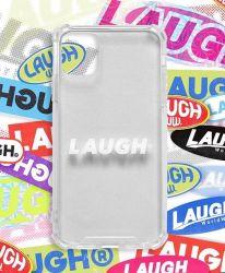 LAUGH LOGO CLEAR CASE