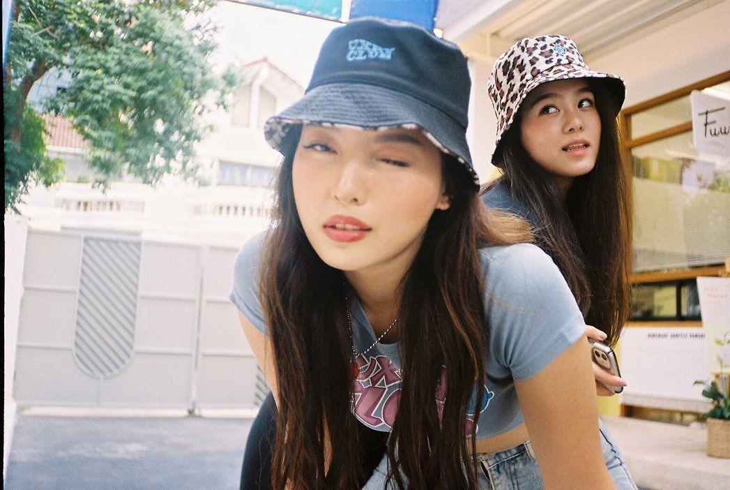 UXRY CLUB LEOPARD MINK BUCKET HAT