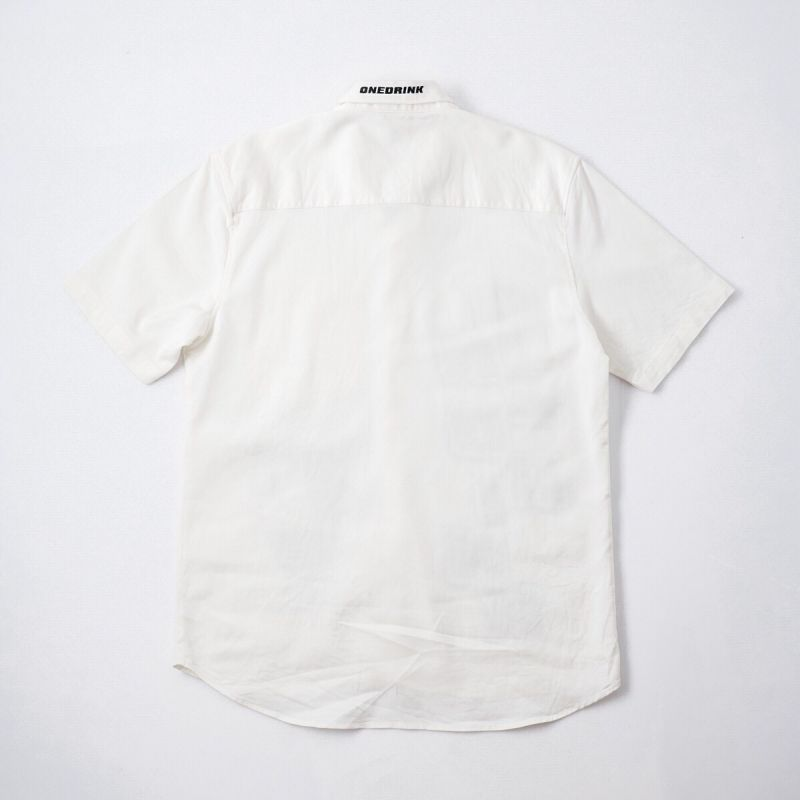 ONE DRINK AND WE GO HOME OFF-ROAD 7 SHIRT WHITE