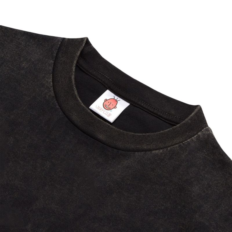 UXRY LOGO BLEACHED RELAXED TEE