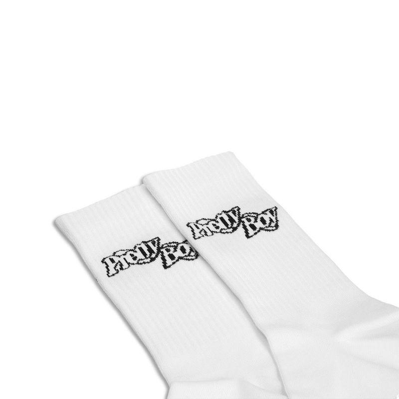 DOUBLE RING SOCKS SET (BLACK, WHITE, PURPLE)