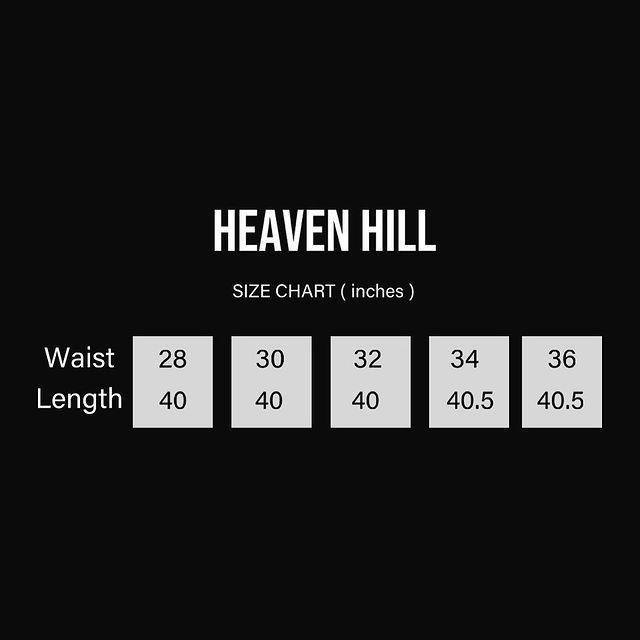 HEAVEN HILL BLACK DIAMOND CRYSTAL DENIM
