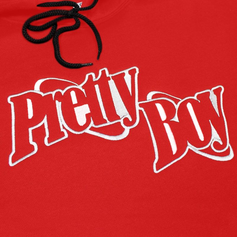 PBG DOUBLE RING HOODIE (RED)