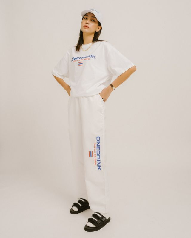 ONE DRINK WALK FROM HOME6 PANT WHITE