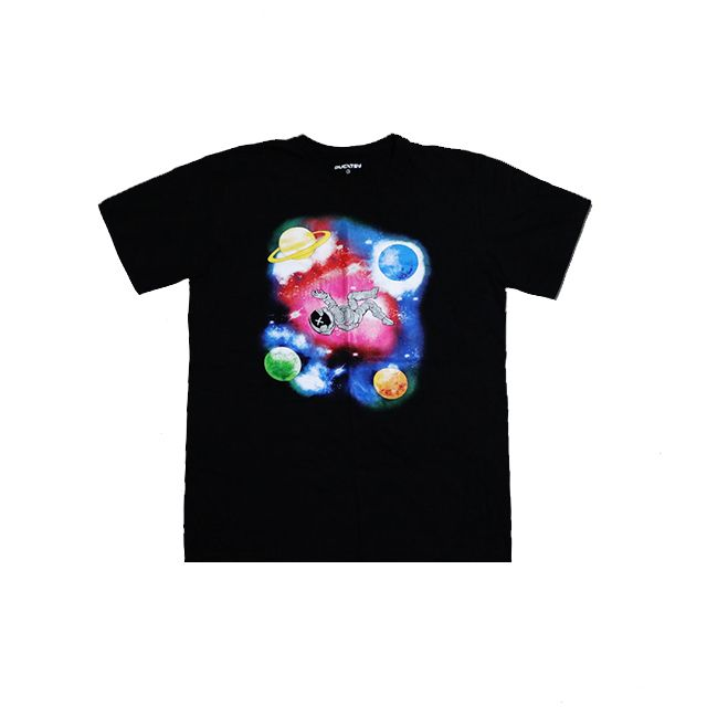 DUCATSY DUCATBOY IN THE SPACE TEE BLACK