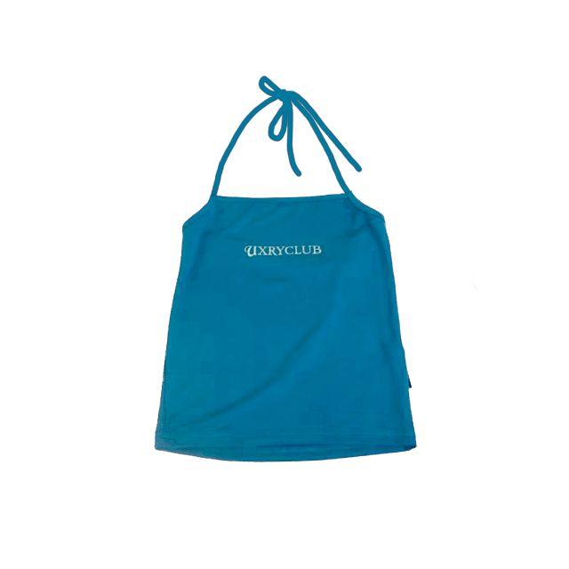 UXRY CLUB LOGO BLUE GLITTER LOCKTOP