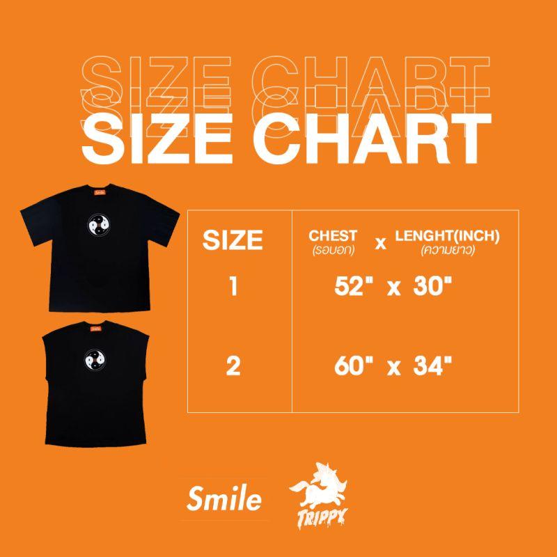 SMILE CLUB New Yin-Yang S/S TEE (SIZE 2)