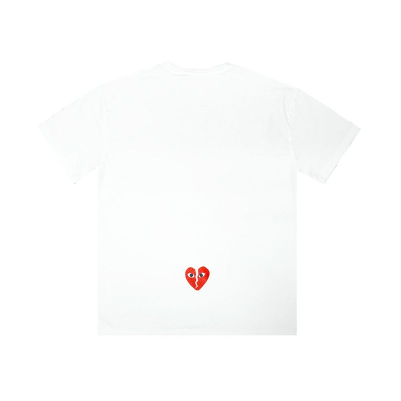 "TOOMANYOPTIONS ""JUST BREAK IT"" TEE WHITE"
