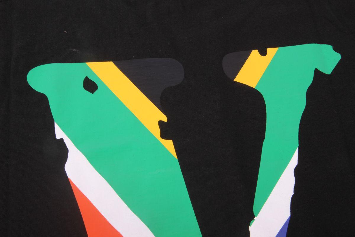 VLONE FRIEND TEE BLACK (SOUTH AFRICA)