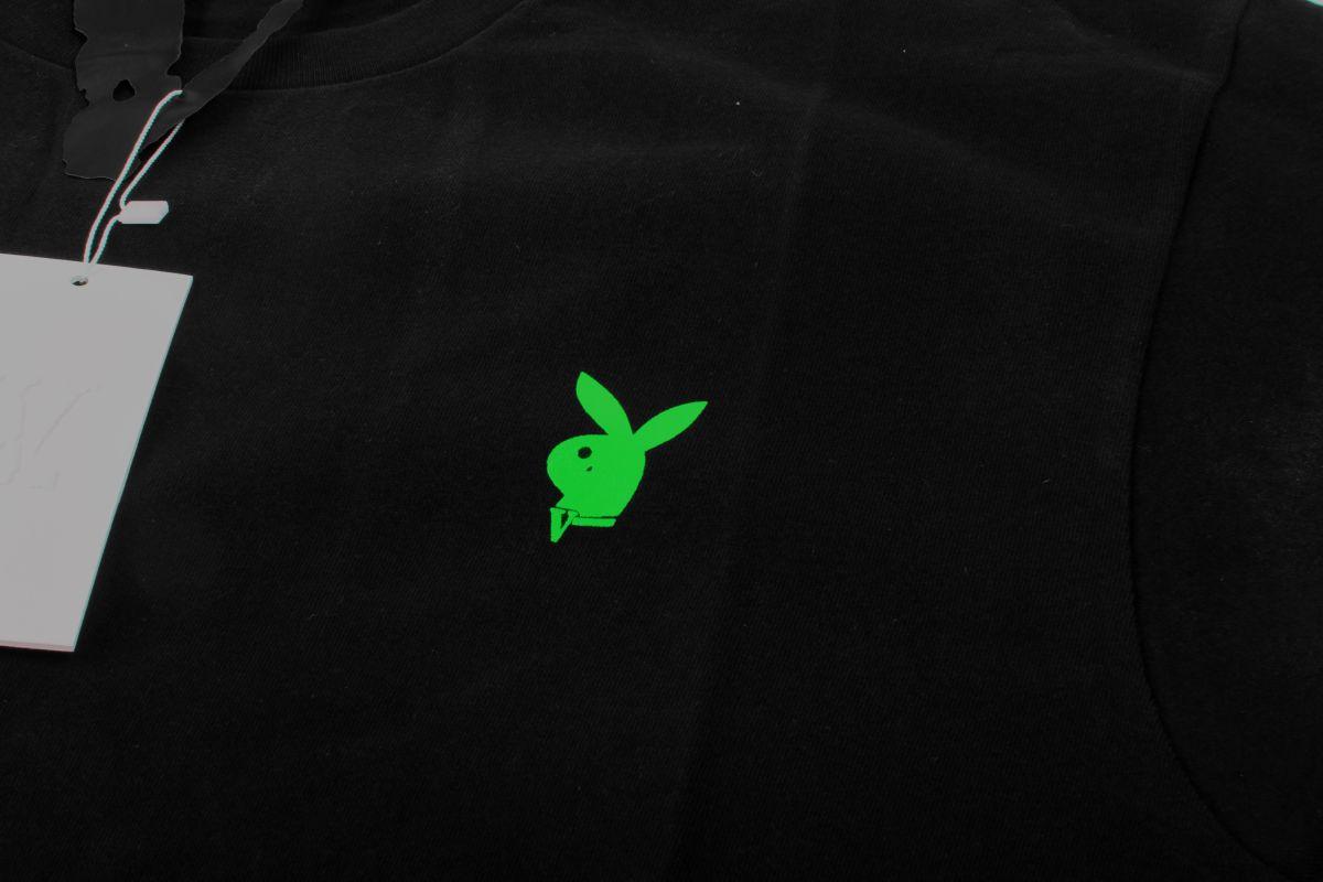 VLONE x PLAYBOY CARTI LOGO TEE BLACK (GREEN)