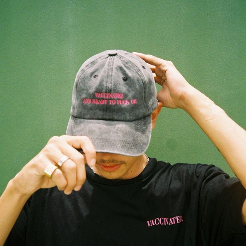 GOOD BOY VACCINATED CAP BLACK